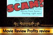 Movie Review Profits review scam