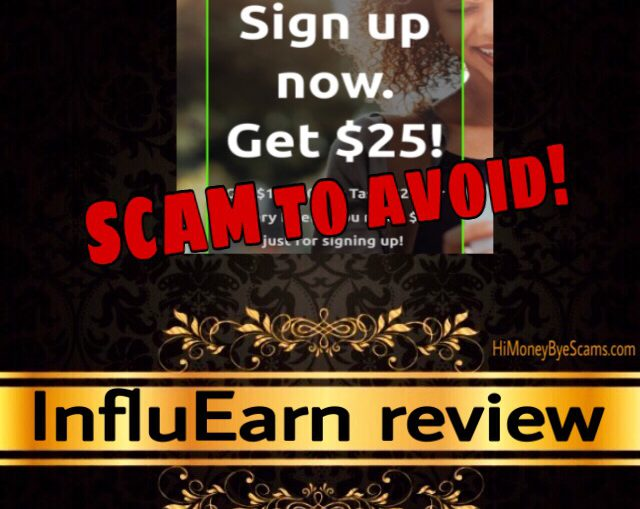 InfluEarn review scam