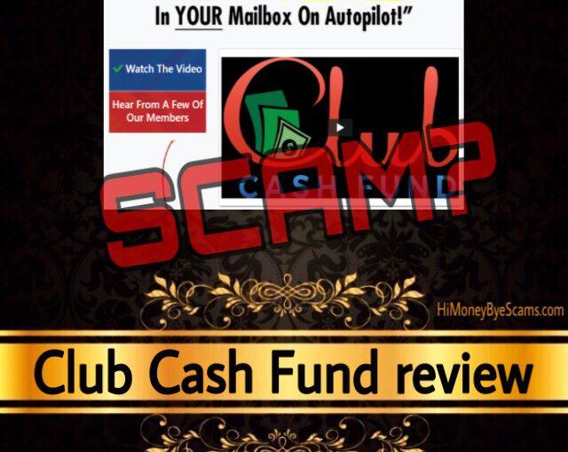 Club Cash Fund scam review