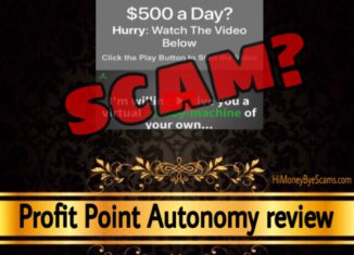 Profit Point Autonomy review scam