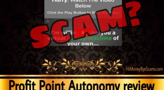 Profit Point Autonomy review scam