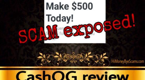 CashOG review scam