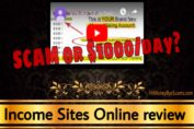 Income Sites Online review scam