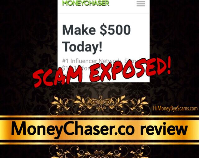 MoneyChaser.co scam review
