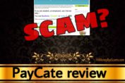 PayCate review scam