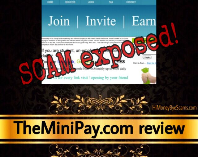 TheMiniPay scam review