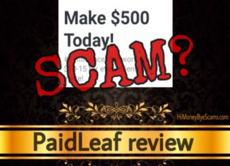 PaidLeaf review scam