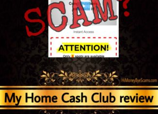 My Home Cash Club review scam