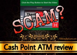 Cash Point ATM review scam
