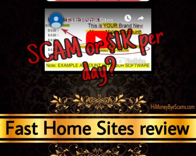 Fast Home Sites review scam