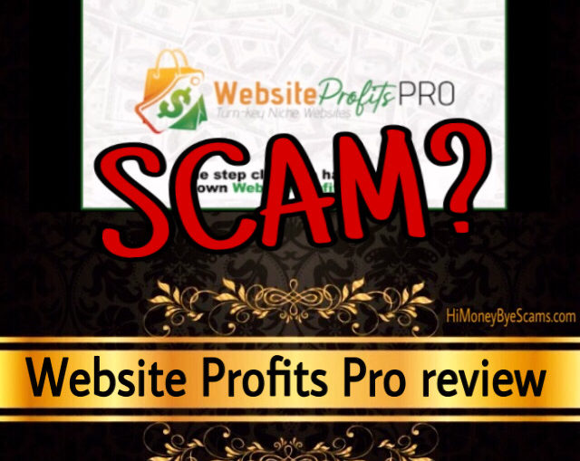 Website Profits Pro scam review