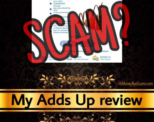 My Adds Up review scam