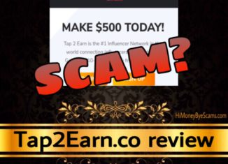 Tap2Earn review scam
