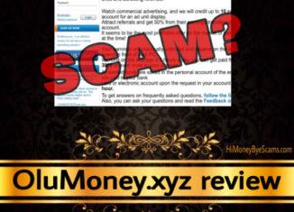 OluMoney.xyz review scam