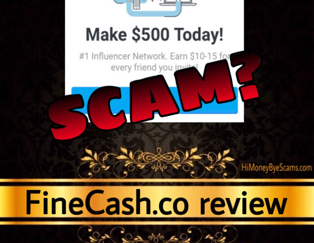 FineCash.co scam review