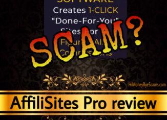 AffiliSites Pro review scam