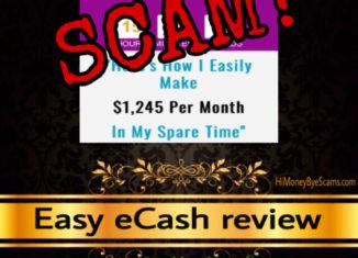 Easy eCash scam review
