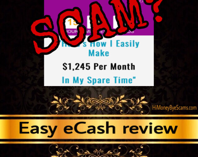 Easy eCash scam review