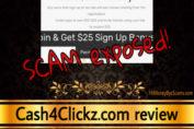 Cash4Clickz review scam