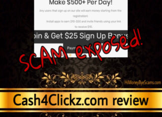 Cash4Clickz review scam