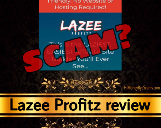 Lazee Profitz scam review