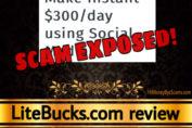 LiteBucks review scam