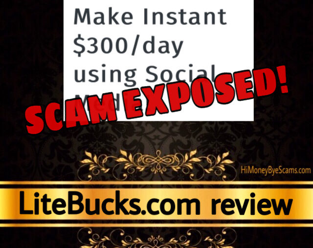 LiteBucks review scam