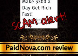 PaidNova scam review