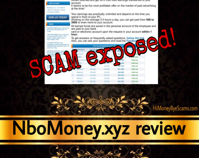 NboMoney.xyz review scam