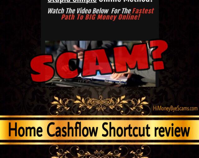 Home CashFlow Shortcut scam review