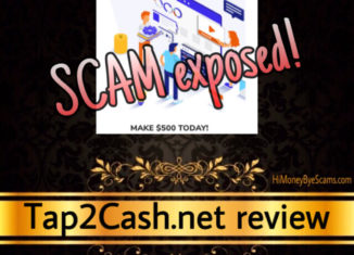 Tap2Cash.net review scam