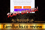 EarnBucks.co scam review