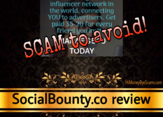 Social Bounty review scam