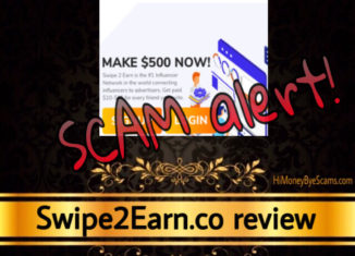 Swipe2Earn review scam