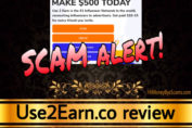 Use2Earn.co review scam