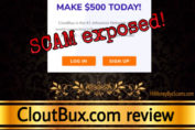 CloutBux review scam