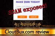 CloutBux review scam