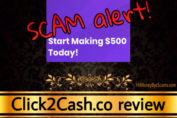 Click2Cash.co scam review