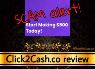 Click2Cash.co scam review