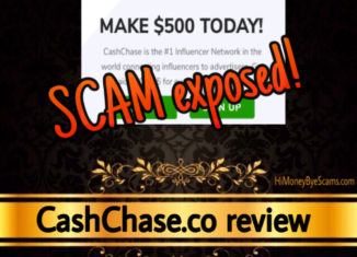 CashChase scam review