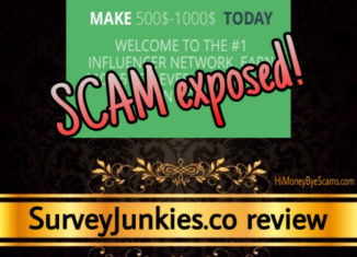 SurveyJunkies.co review scam
