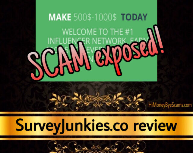SurveyJunkies.co review scam