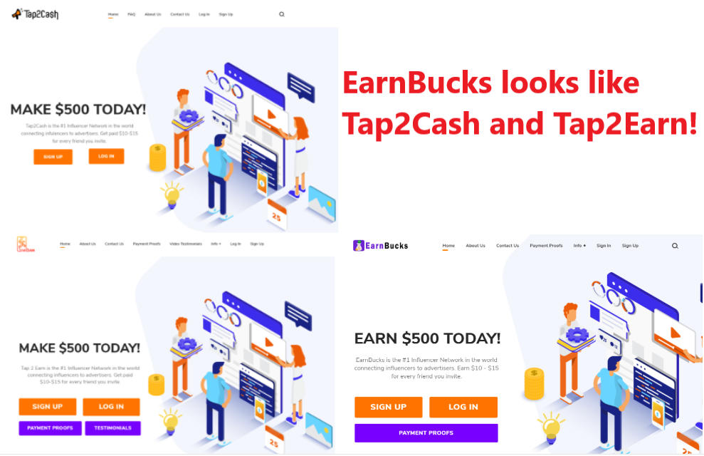 EarnBucks.co scam site