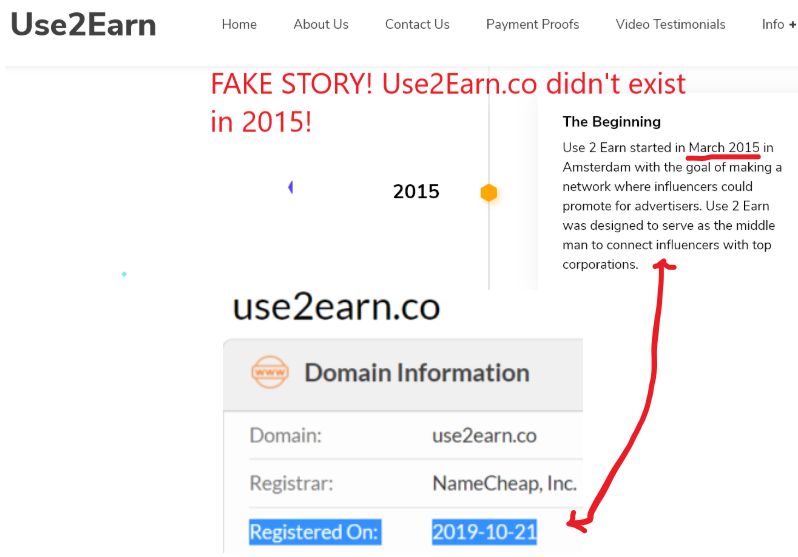 Use2Earn.co review domain