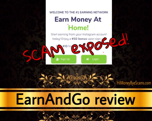 EarnAndGo.co scam review