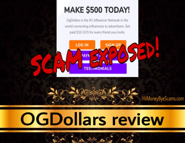OGDollars review scam
