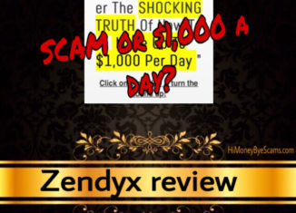 Zendyx scam review