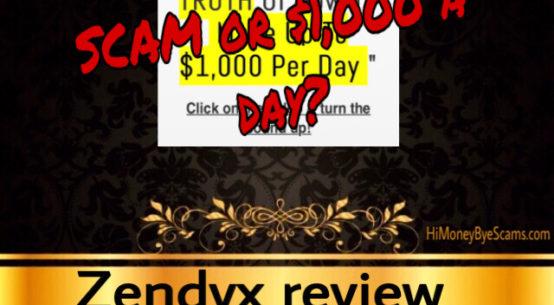 Zendyx scam review