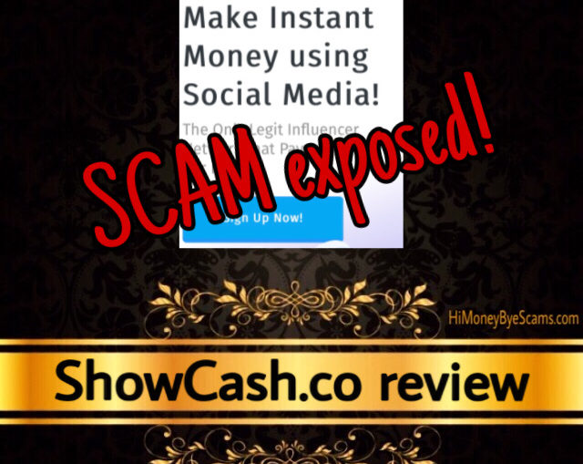 ShowCash.co review scam