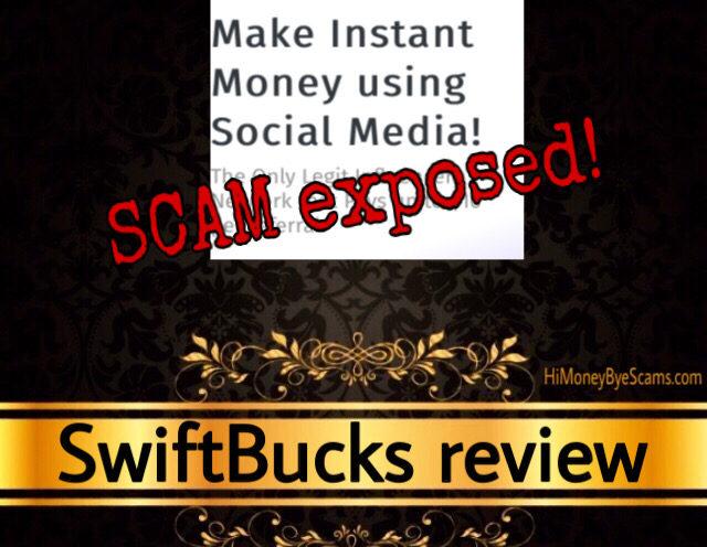 SwiftBucks scam review